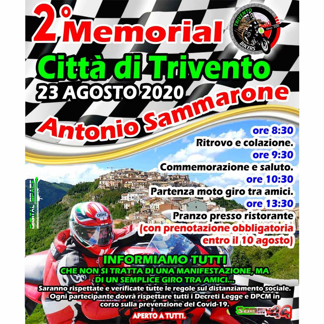Memorial Antonio Sammarone 2020